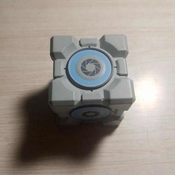 Portal/Portal 2 Mini Weighted Storage Cube & Portal 2 Other   Portal Mini Weighted Storage Cube   Poshmark